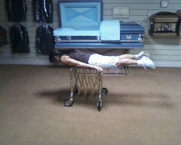 James Patton says planking is coming to the funeral industry