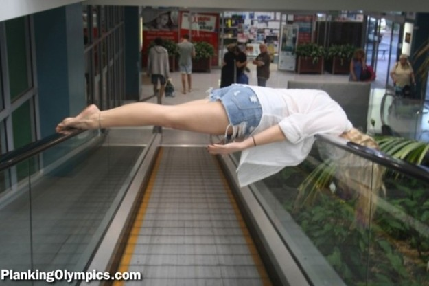 James Patton on Planking